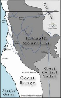 The Klamath Knot as an ecological crossroads.