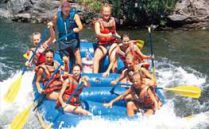 Whitewater Rafting on the Klamath River, Sandy Bar Ranch